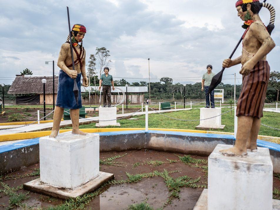 Primeira nação autônoma na Amazônia, os wampís encaram as mudanças climáticas