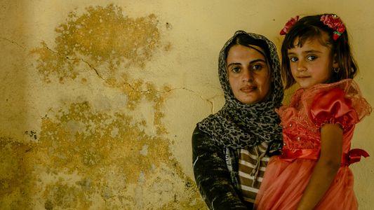 Retratos das mulheres yazidis libertadas do Estado Islâmico