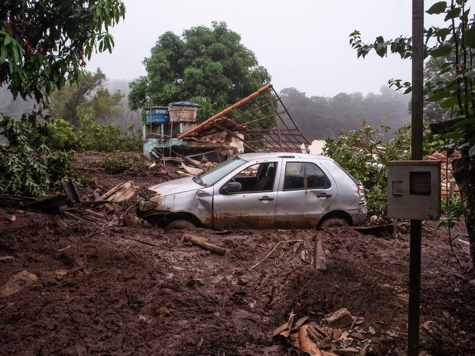 Fotos: Dor e destruição depois do rompimento da barragem em Brumadinho