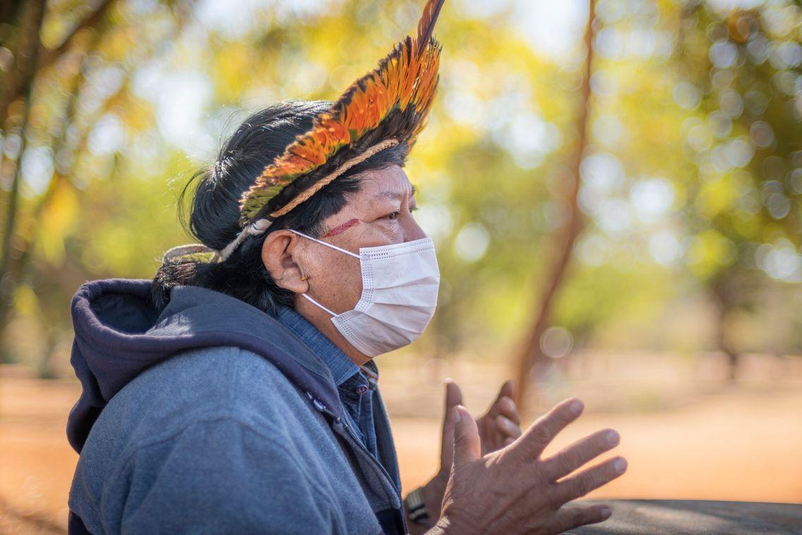 """Davi Kopenawa: """"A força da natureza colocou meu pensamento no campo de luta"""""""
