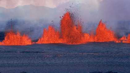 Bolsão de magma encontrado na Islândia sugere existência de mais 'bombas-relógios'
