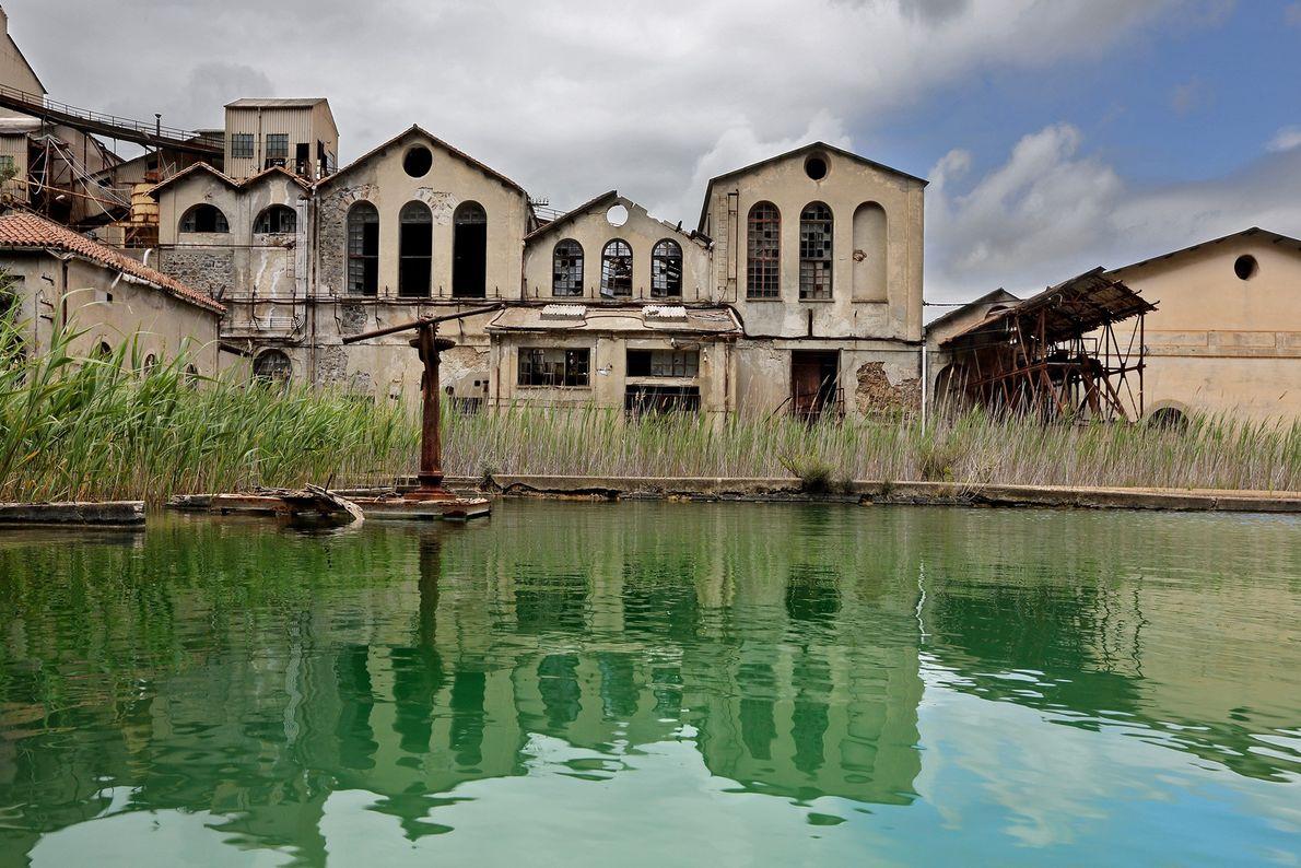 Quando a mina de Montevecchio foi fechada em 1991, muitos mineiros deixaram suas casas.