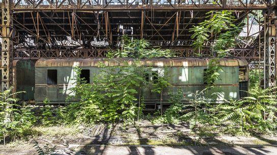 Train Graveyard, Hungary