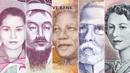 O que os rostos impressos nas cédulas podem revelar sobre um país?