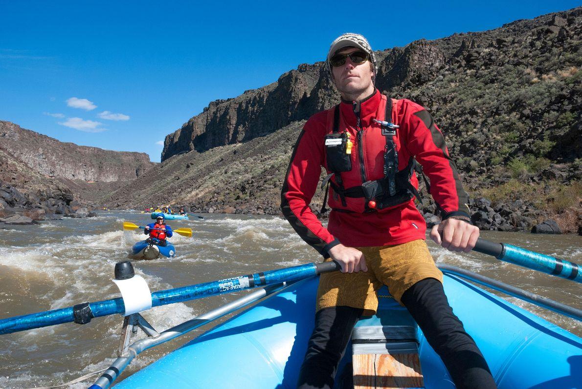 Rafting Owyhee River