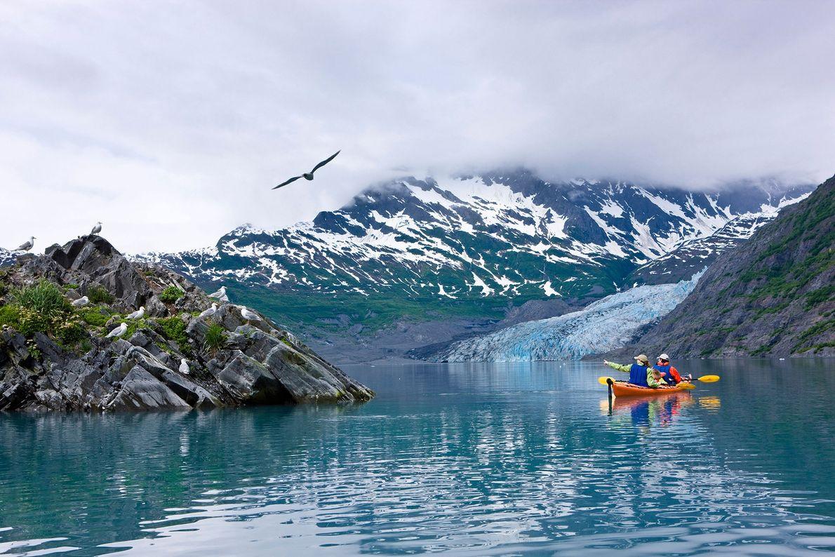 Caiaque no Alaska