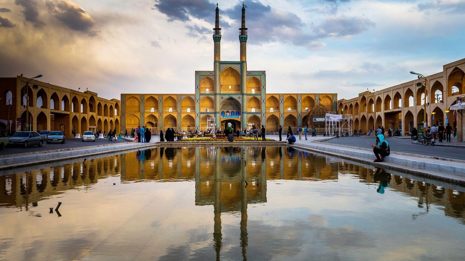 A cidade iraniana de Yazd, lar de mais de meio milhão de pessoas, foi listada como ...