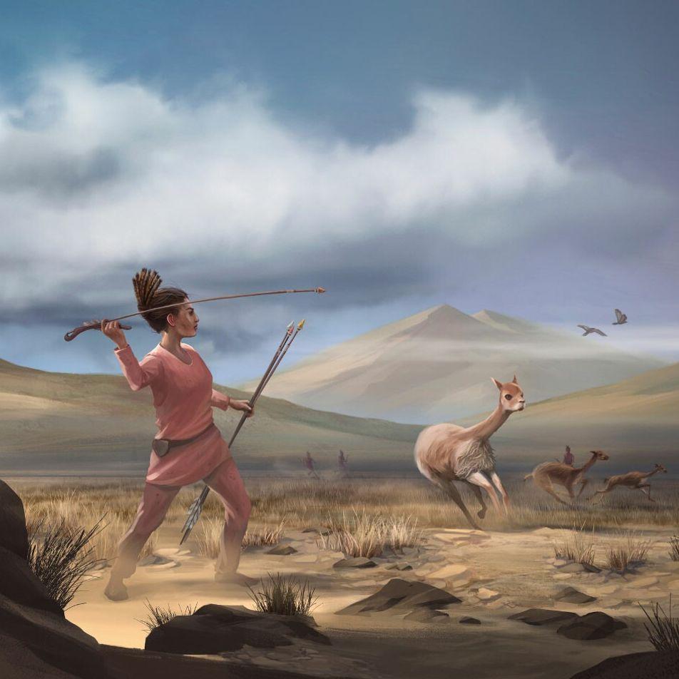Descoberta de caçadora pré-histórica questiona suposições sobre os papéis de cada gênero