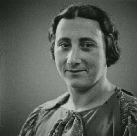 Edith Frank, mãe de Anne, morreu em 6 de janeiro de 1945, no campo de concentração ...