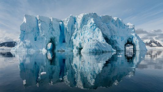 A Antártida derrete