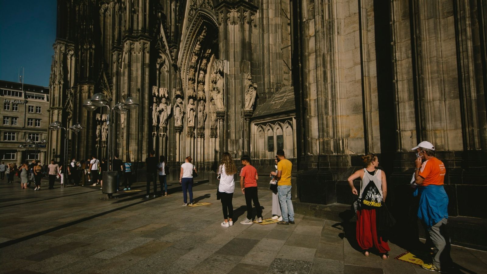 Daily Life In Cologne And Bonn Airport Amid Increasing Coronavirus Cases In Germany