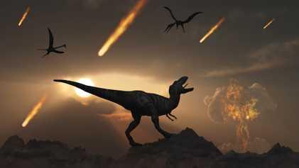 Vulcões ajudaram vida a se recuperar após impacto de asteroide que extinguiu dinossauros