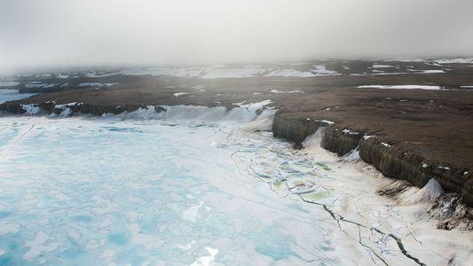 Geleiras de ilha do Ártico atingem o menor tamanho já visto na história humana