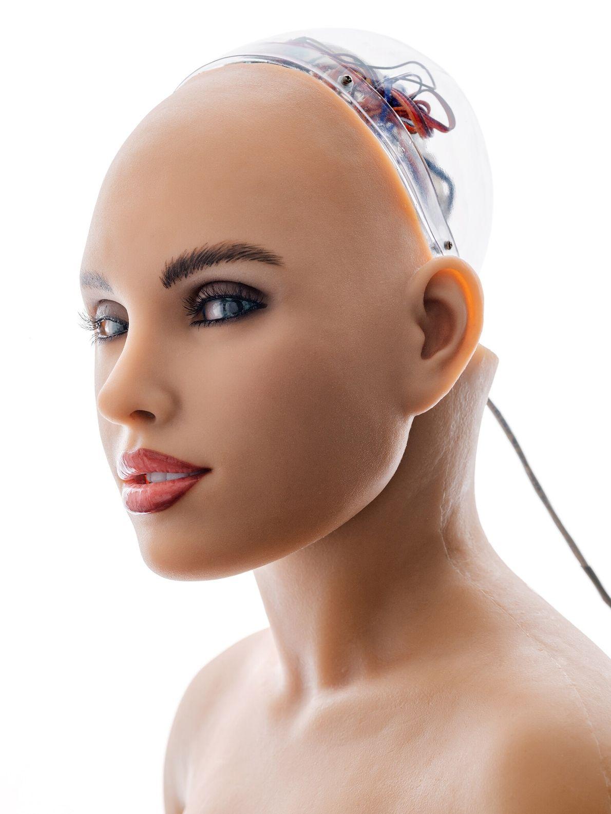 Alguns roboticistas criam máquinas que imitam e se assemelham a humanos até mesmo nos menores detalhes. ...