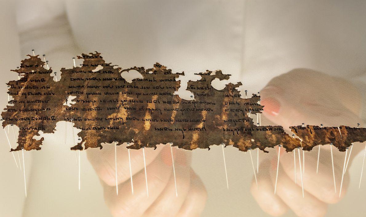 cacadores-de-biblia-fragmento-manuscrito-do-mar-morto