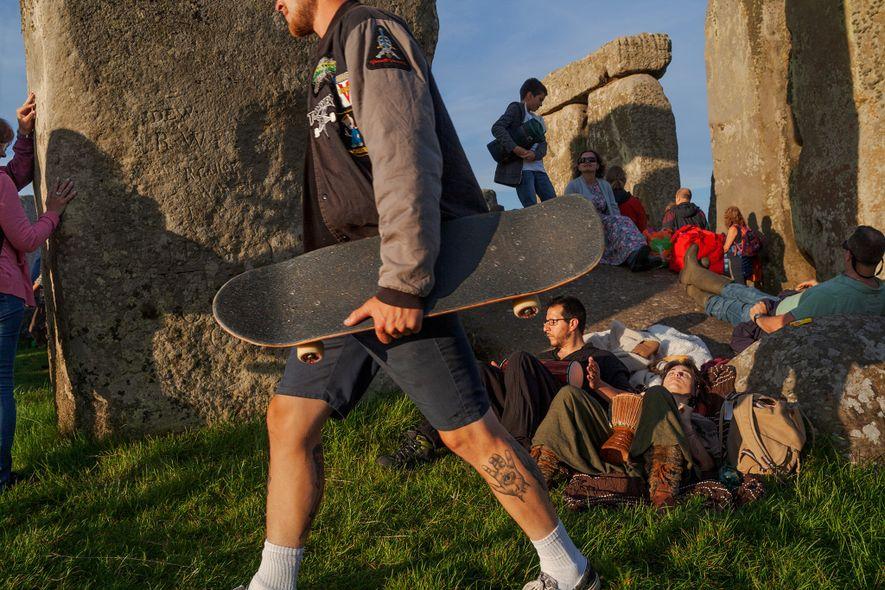 No início da construção de Stonehenge, 5 mil anos atrás, agricultores viviam nas ilhas britânicas. Um ...