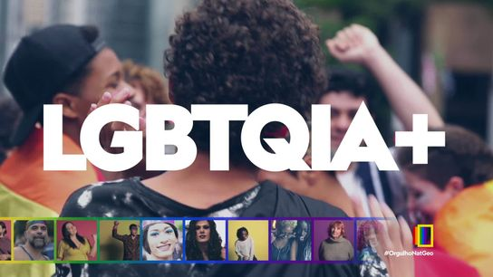 """Vídeos compartilhados em redes sociais acompanhados da hashtag """"#OrgulhoNatGeo"""", com a temática de apoio à celebração do ..."""