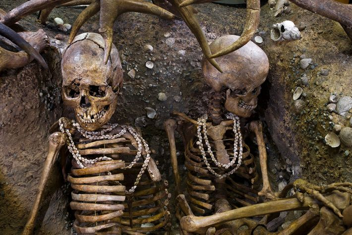 Estudo com restos mortais de agricultores pré-históricos encontrou indícios de que eles realizavam trabalho pesado.