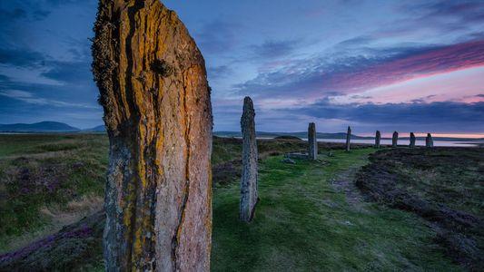 Fotos de um caso de amor com as ilhas escocesas