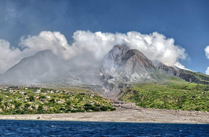 Emerald Isle-volcano