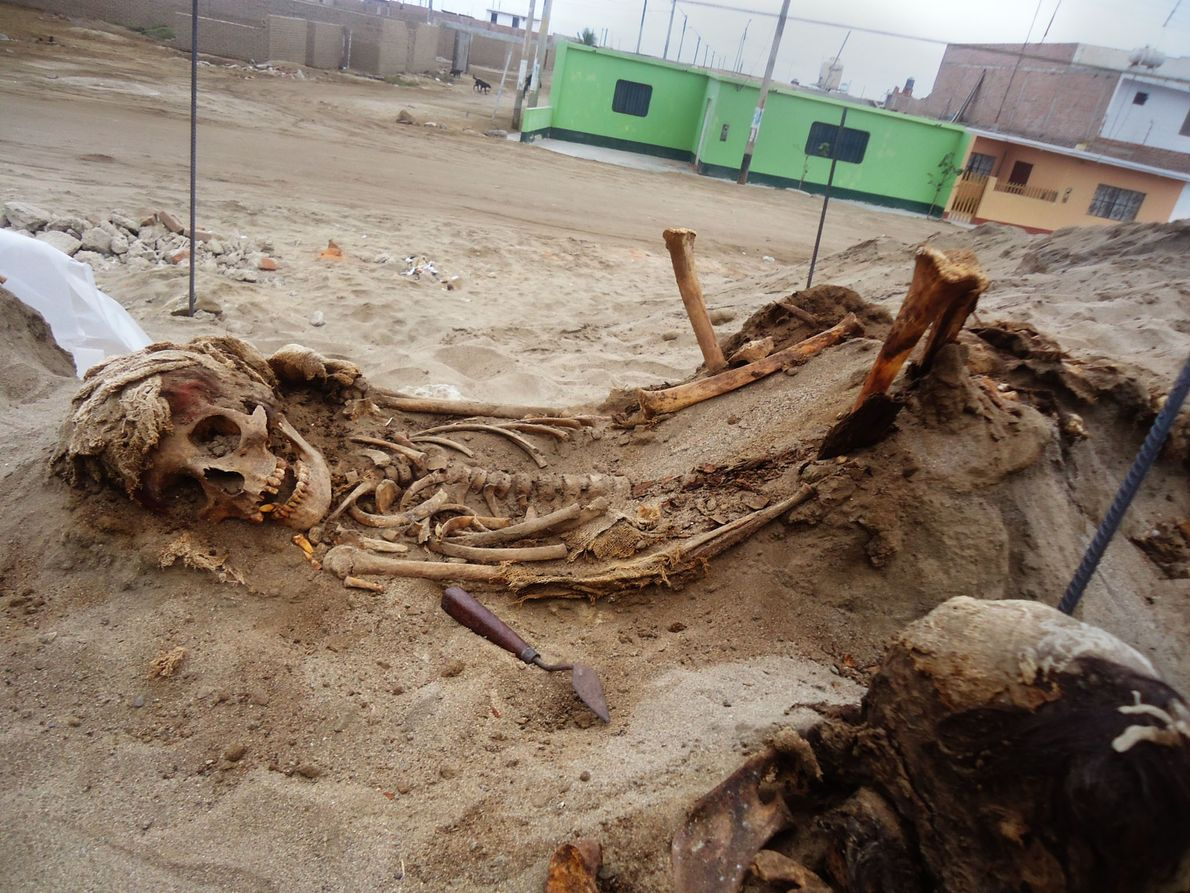 Local do sacrifício, no Peru