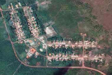 imagem aérea agrovila marudá
