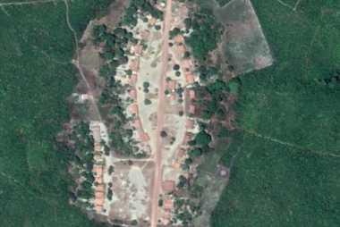 imagem aerea Agrovila Só Assim