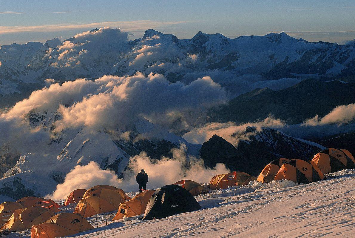 Andrzej Zawada continuou sua liderança no jogo das expedições de inverno em altas altitudes com uma ...