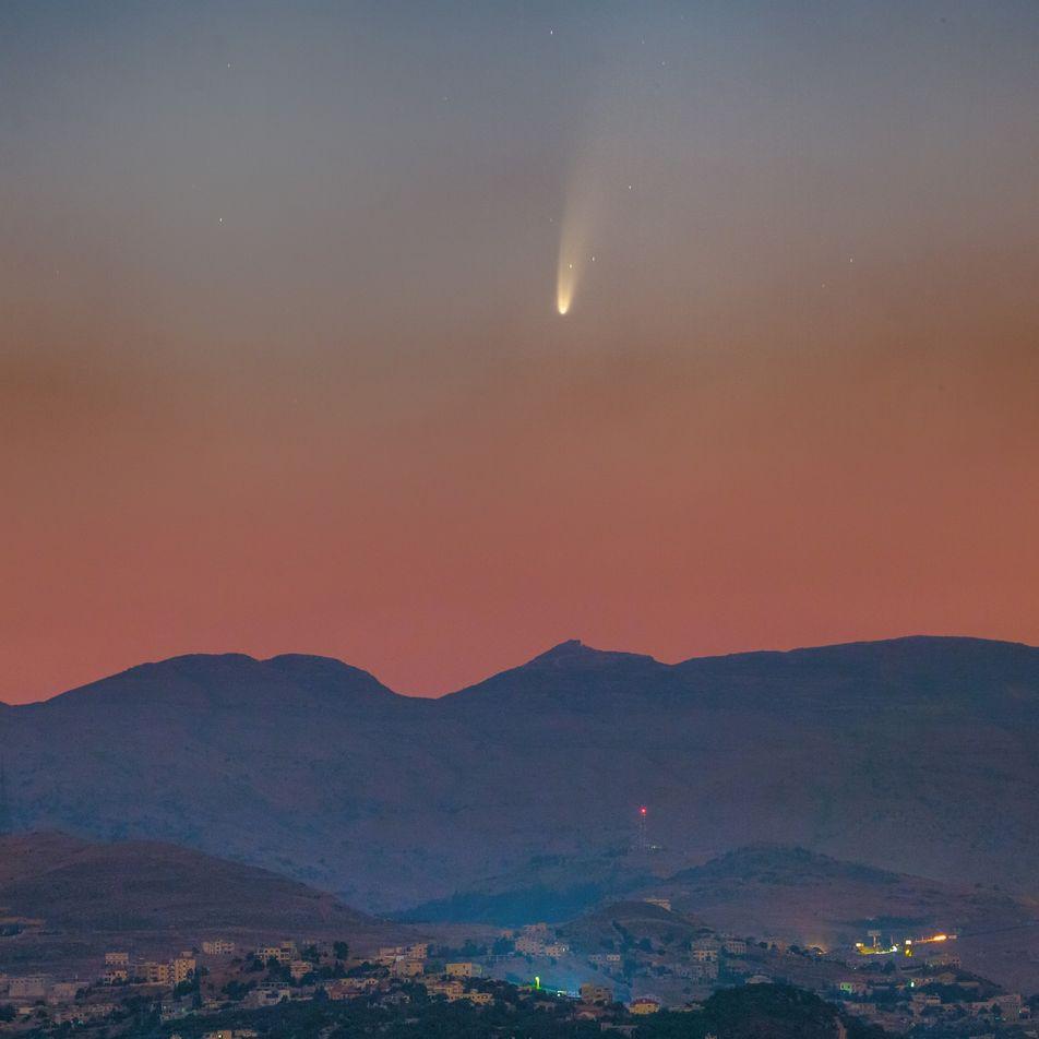 Cometa mais brilhante da década está visível hoje no Brasil – saiba como vê-lo