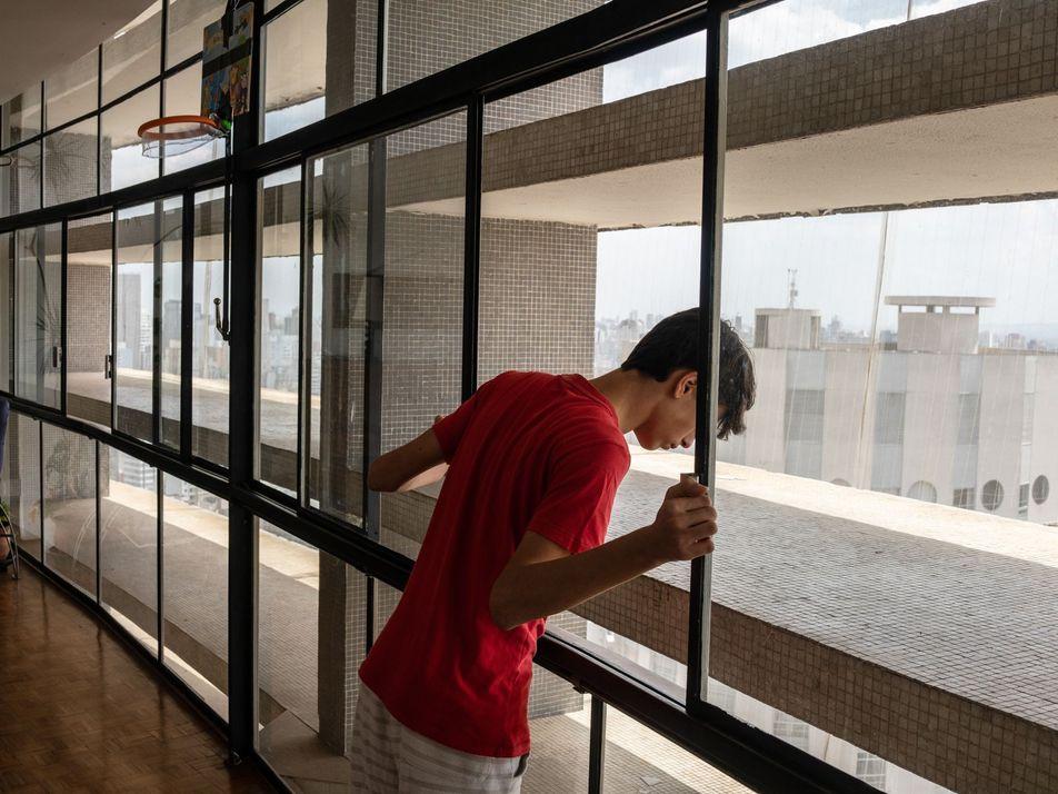 Fotos: a vida no Copan, um dos maiores complexos residenciais do país, durante a pandemia
