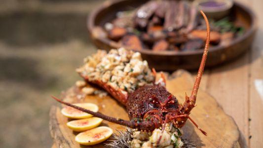 Sabores da Tasmânia: aprenda a fazer uma lagosta de rocha grelhada com Gordon Ramsay