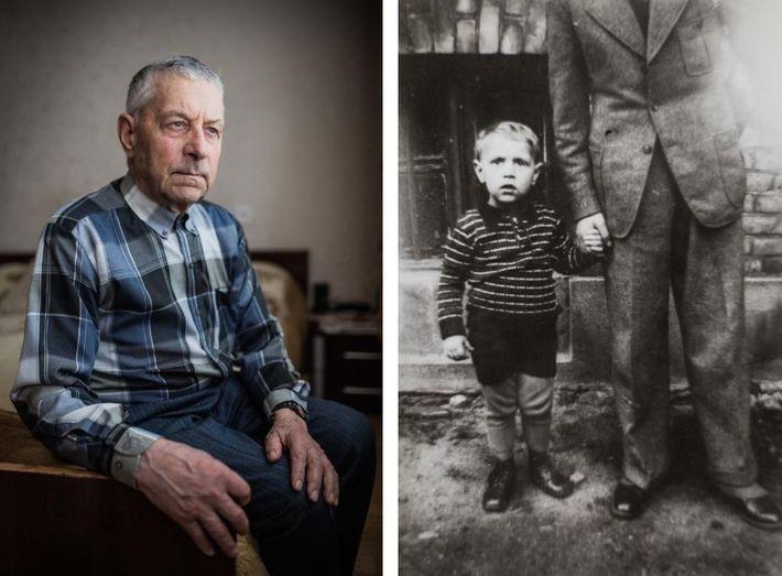 Reinhard Bundt saiu da Prússia Oriental e foi para a Lituânia depois que sua casa foi ...