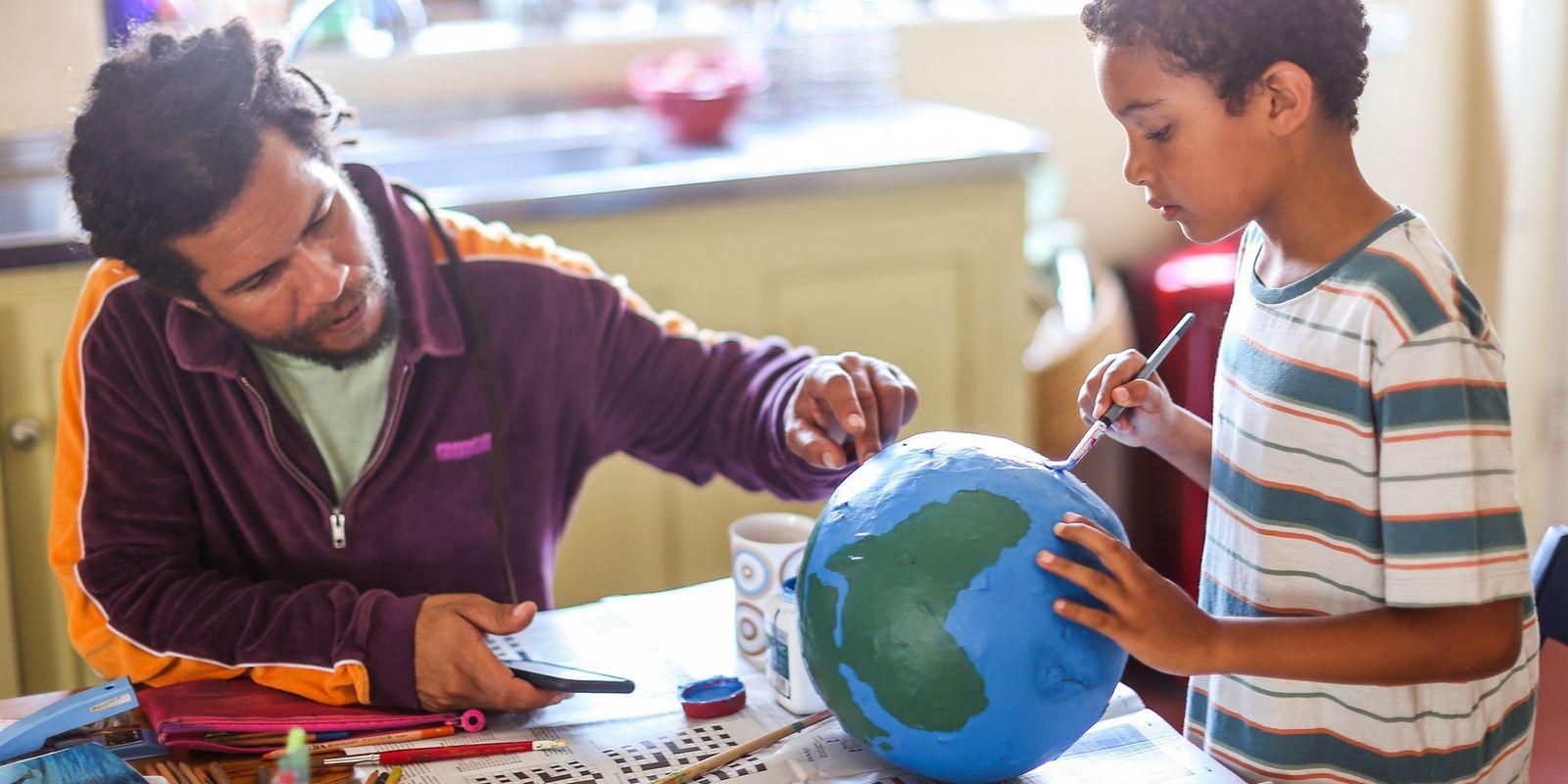 Ideias de atividades para crianças durante a quarentena