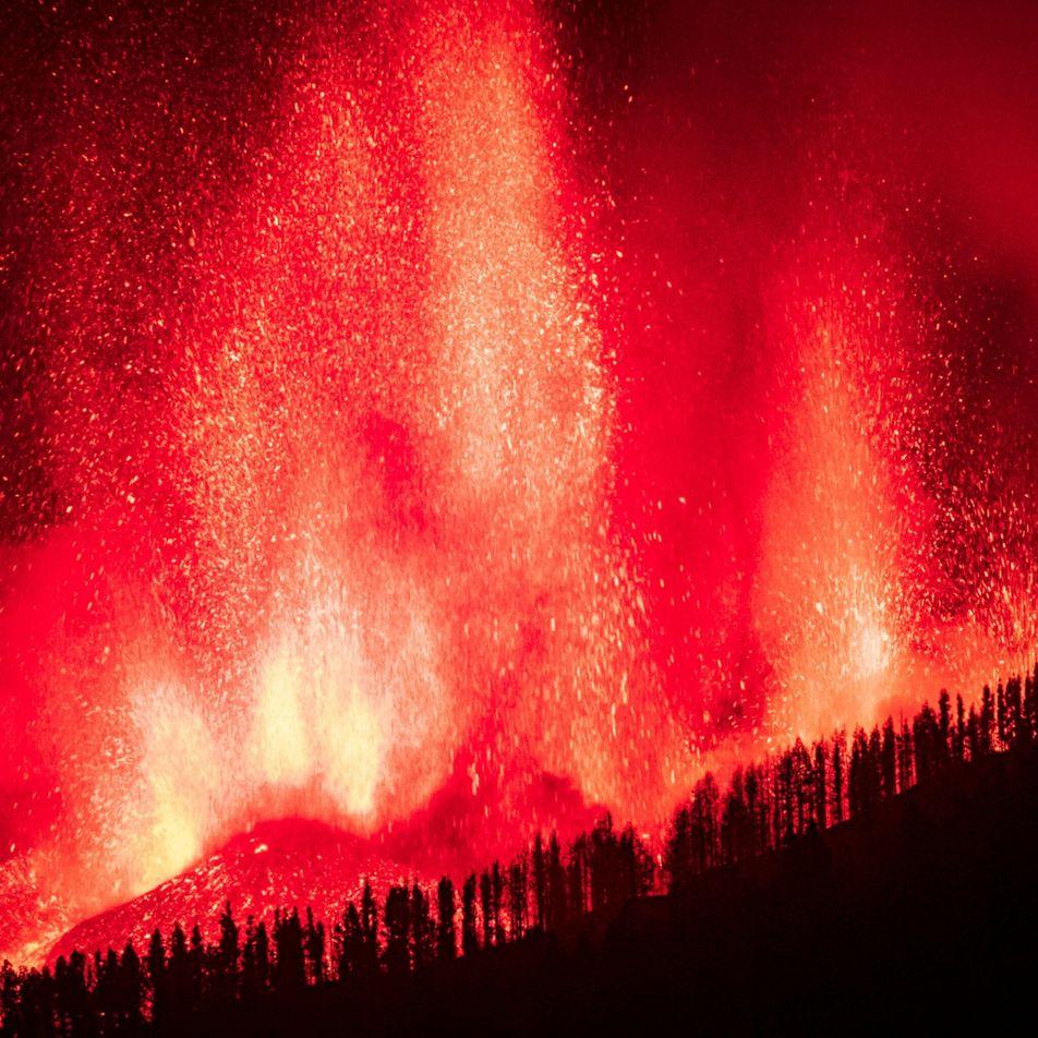 Vulcão das Ilhas Canárias despertou pela primeira vez em 50 anos