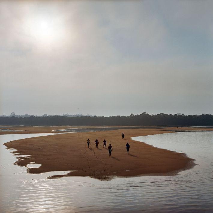 Barragem terra amazônica