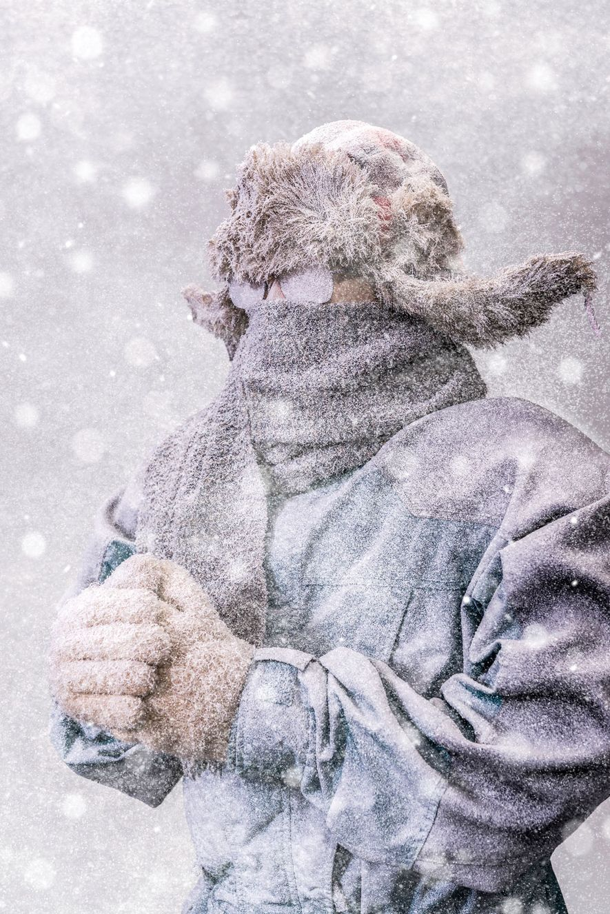 Desde a virada do século 20, a temperatura média do inverno nos Estados Unidos aumentou quase ...