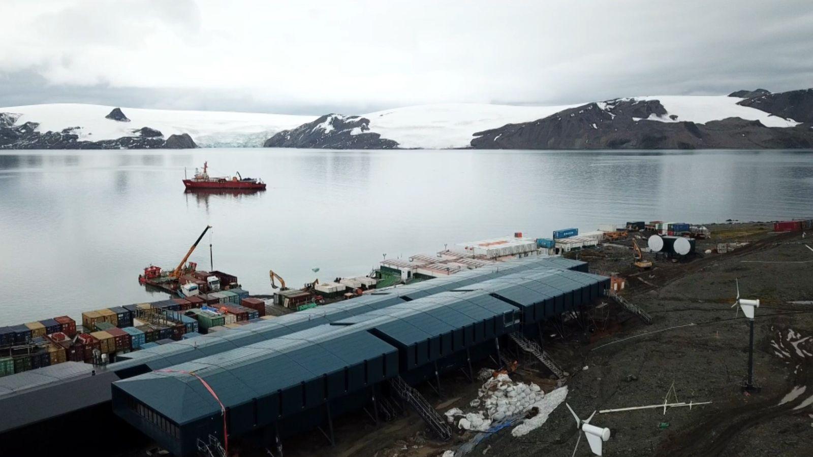 Brasil inaugura nova base de pesquisas na Antártida