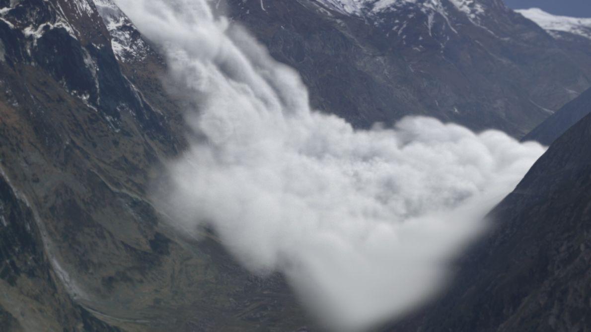 À Beira de um Desastre: Avalanche no Everest