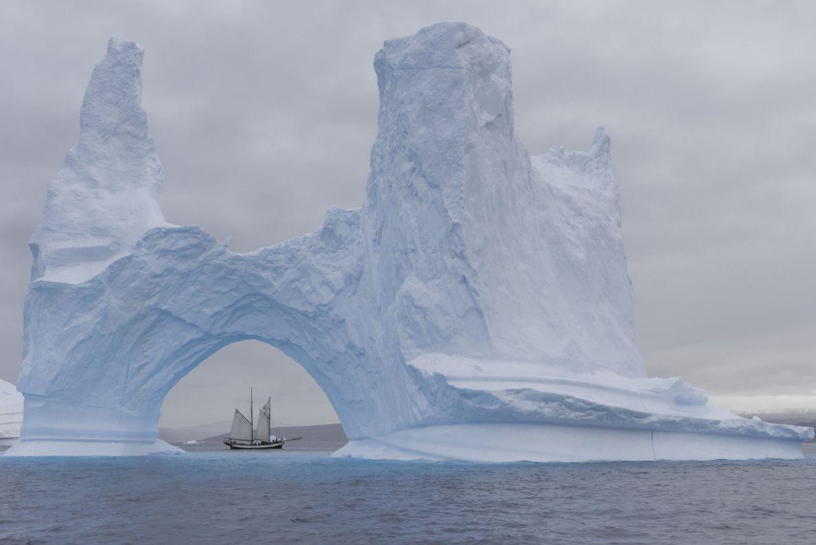 Através do gelo
