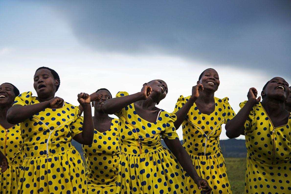 Mulheres dançando