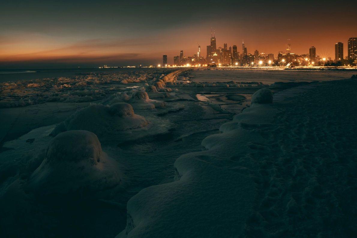 Chicago abaixo de zero