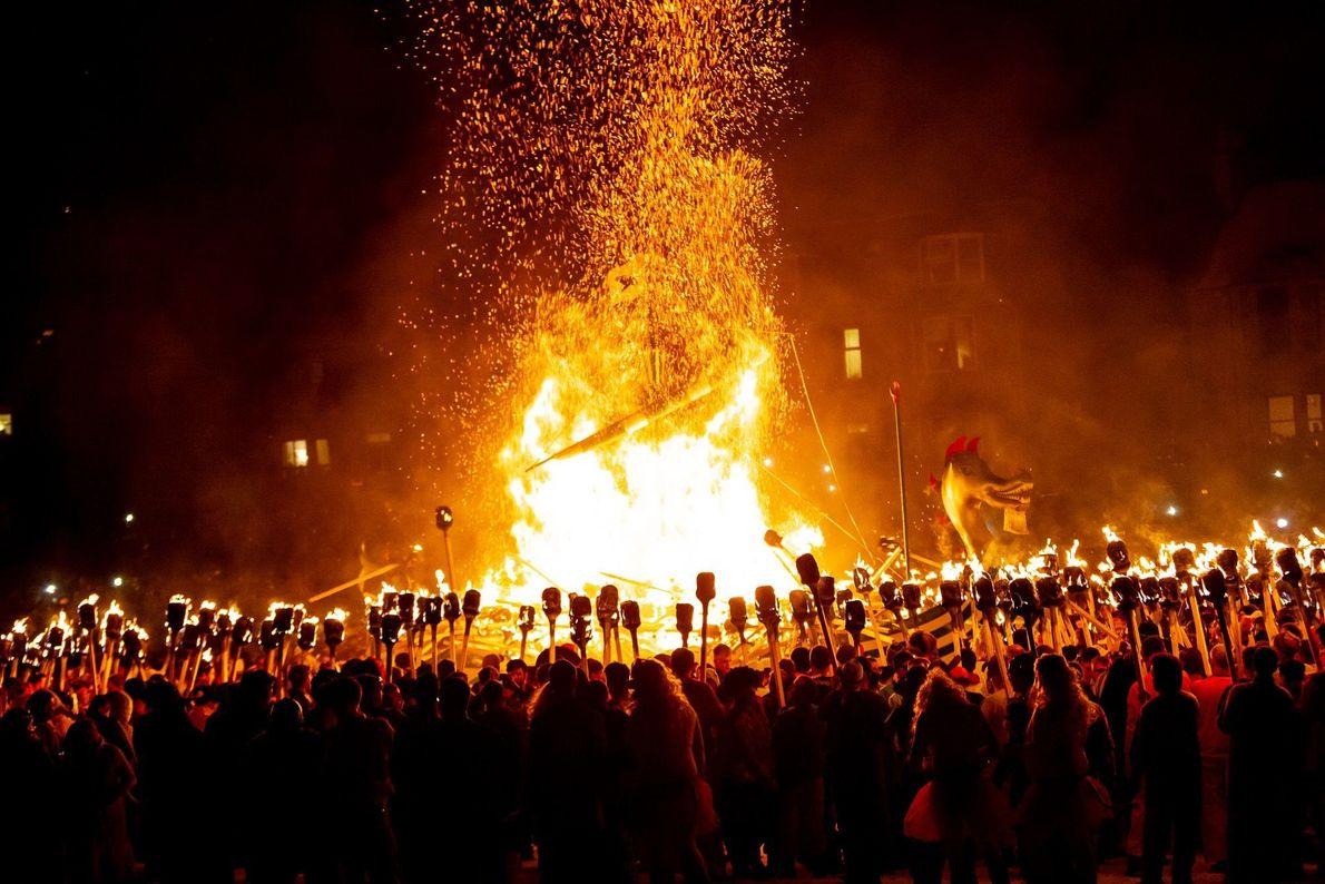 Festival pirotécnico