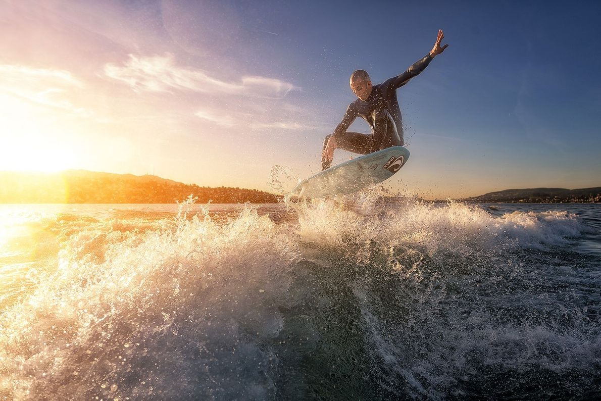 Surfe em água doce