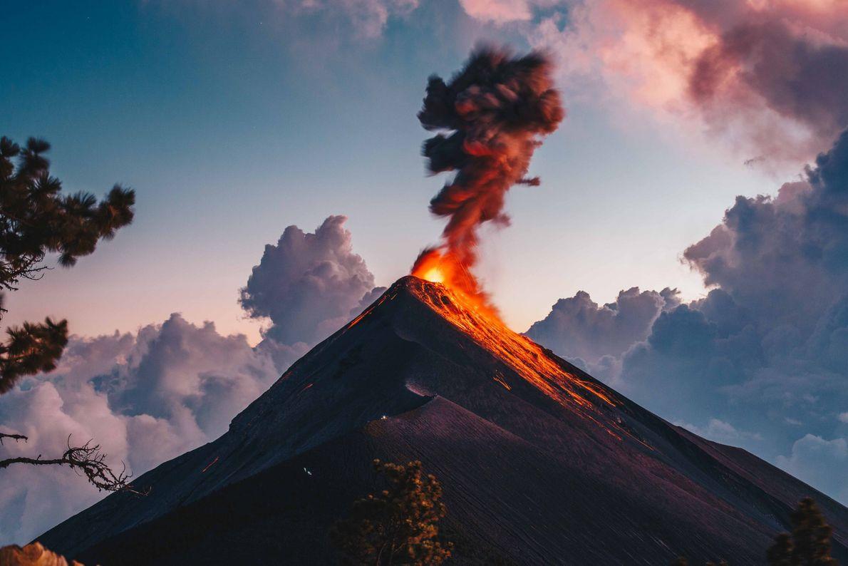 Vulcão de Fogo da Guatemala