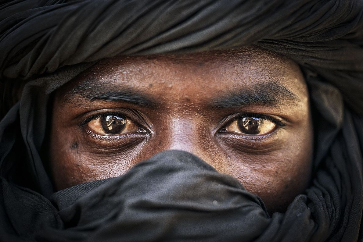 Olhar de um tuaregue