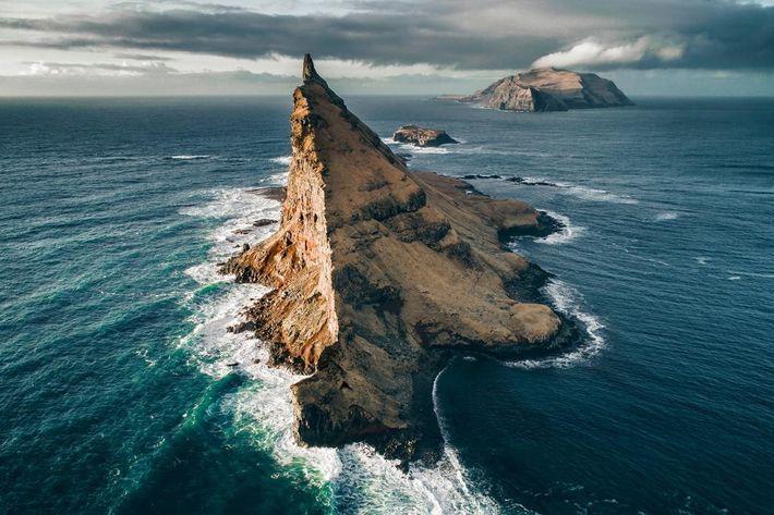 Tindhólmur nas Ilhas Faroe