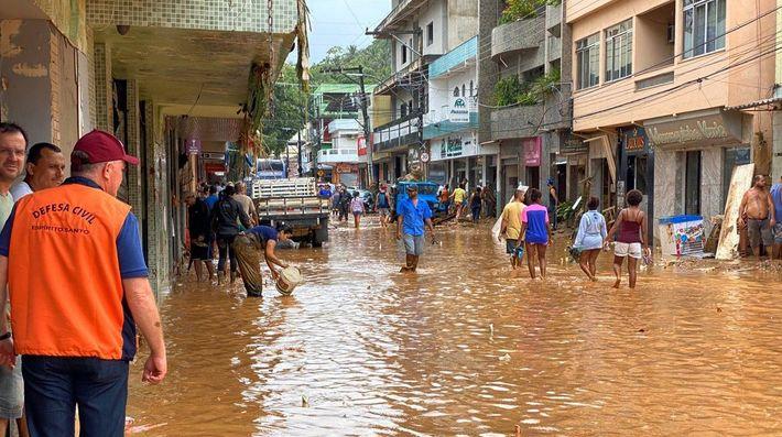 O município de Alfredo Chaves foi um dos mais atingidos pelas tempestades que assolaram o estado ...