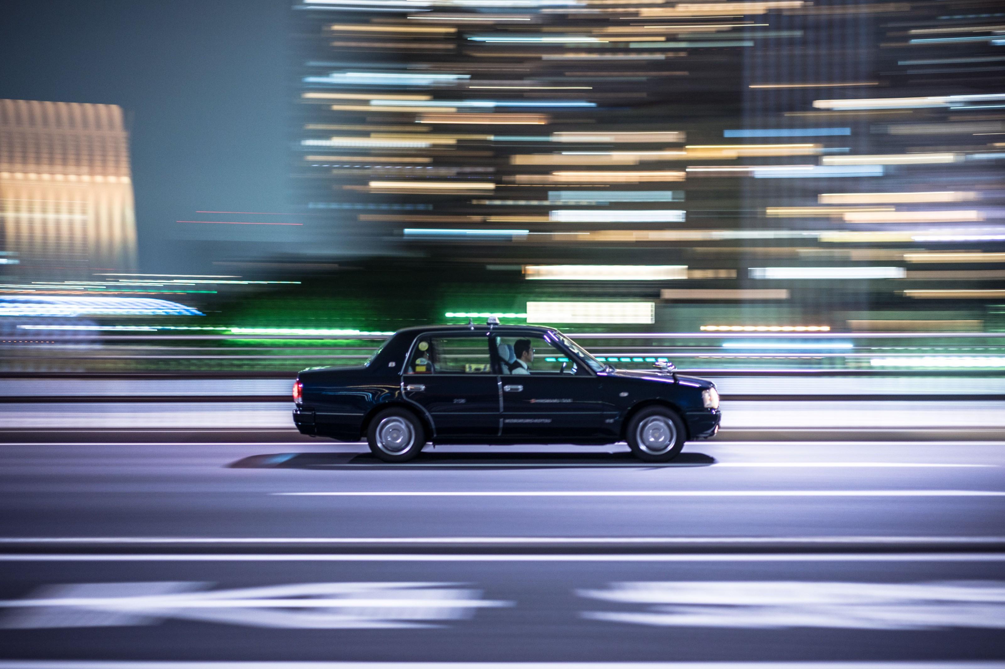 Taxi em Tóquio