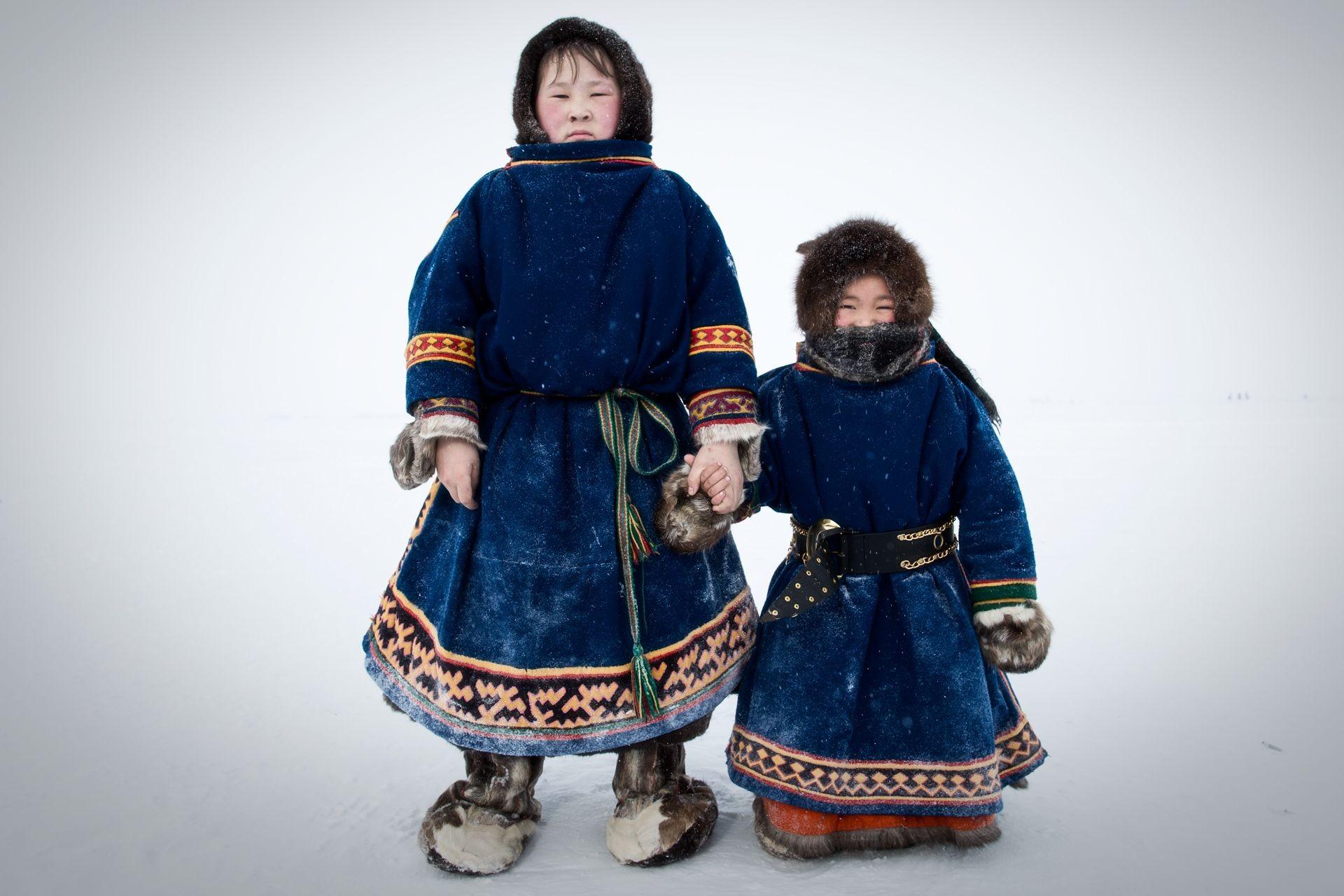 Crianças da tundra