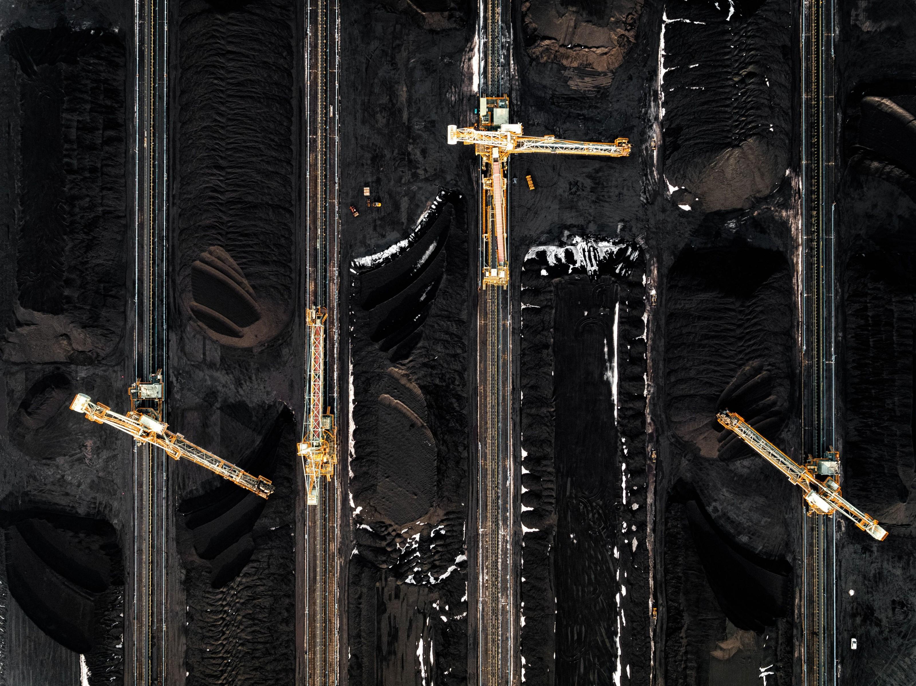 usina carvão no Japão